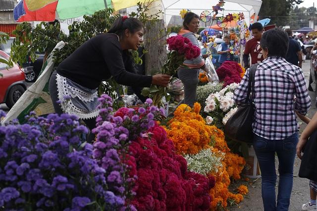 No se ha vendido el cempasúchil como en otros años: comerciantes