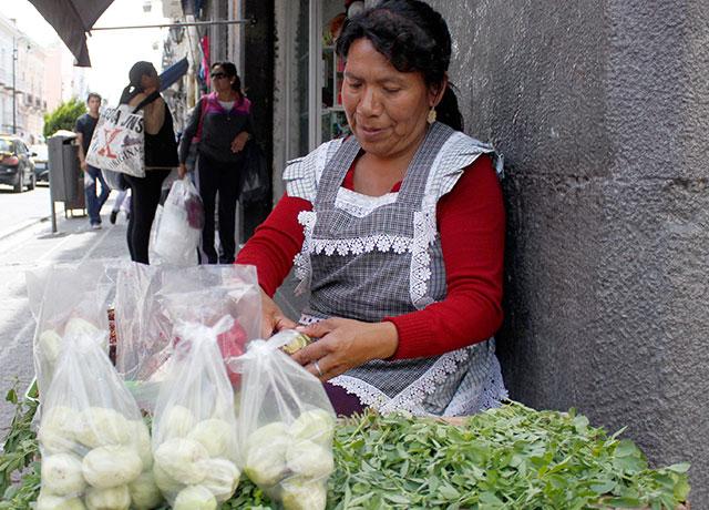 Operativo permanente contra ambulantes en el centro: Rincón