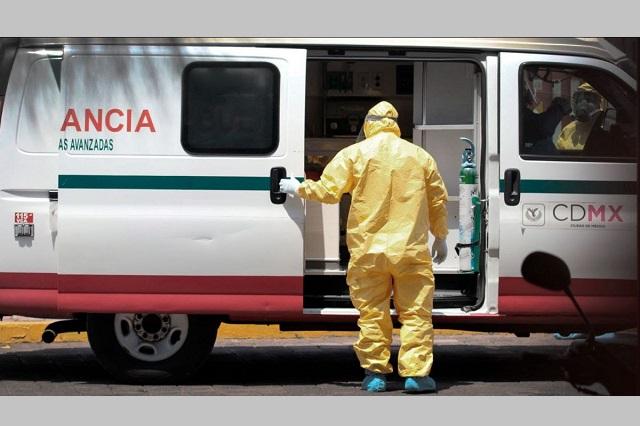Fallan ambulancias públicas en traslado de victimas de Covid