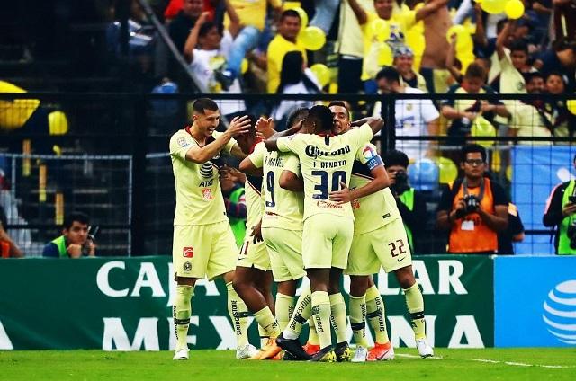 América arrolla a Cruz Azul 3-1 y Necaxa saca mínimo 1-0 a Monterrey