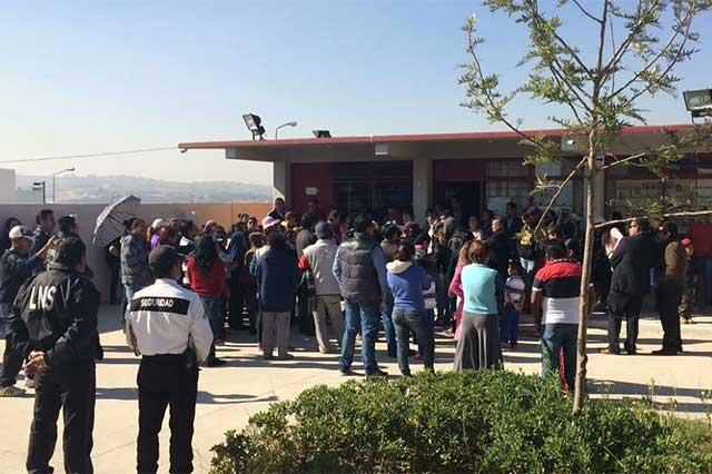 Por amenaza, alumnos dejan clases y SEP ofrece seguridad