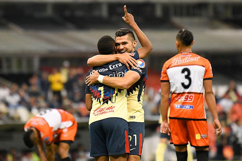 América y Chivas al rescate  en la Concachampions