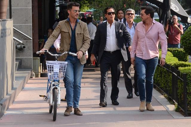 El Burro, Palazuelos y amigos de Luis Miguel juntos como en los viejos tiempos
