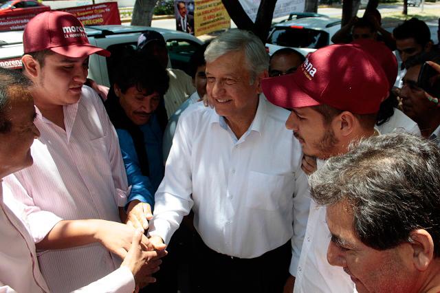 Viene AMLO otra vez para apoyar a Luis Miguel Barbosa Huerta