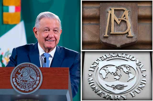 AMLO confirma pago de deuda externa con fondos del FMI