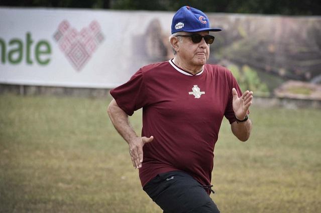 Remodelará gobierno de AMLO estadio para equipo presidido por Pío López Obrador