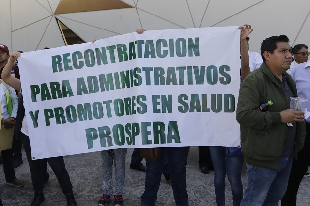 Temen nueva exclusión 650 desempleados de Prospera en Puebla