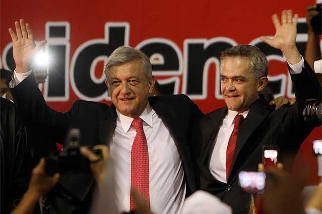 AMLO pide a Mancera que ya defina si quiere ser candidato presidencial