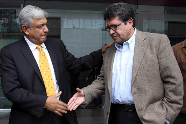 AMLO advierte que Monreal se queda en Morena o se va con partidos corruptos