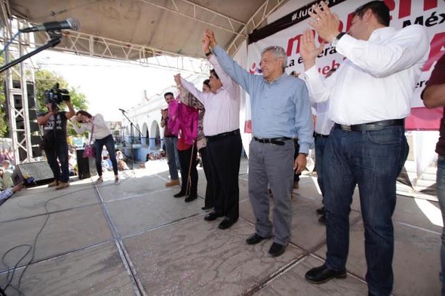 Son tiempos de enfrentar a la mafia del poder y secuaces: AMLO