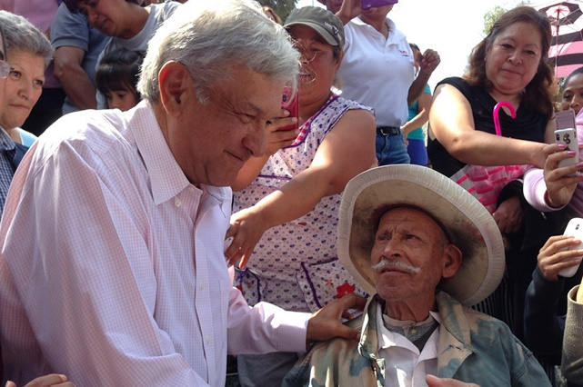 Por Covid-19, AMLO adelantará 4 meses de pensión para Adultos Mayores