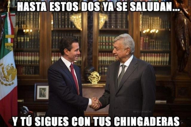 Los memes de la reunión de López Obrador y Peña Nieto