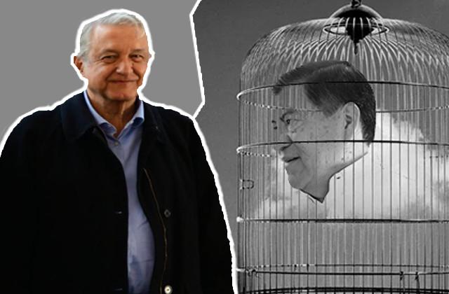 Festeja López Obrador orden de aprehensión contra Mario Marín
