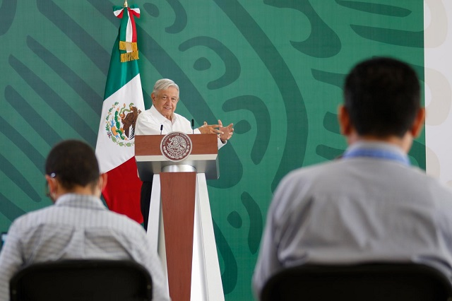 Regreso a clases es voluntario, dice el presidente López Obrador