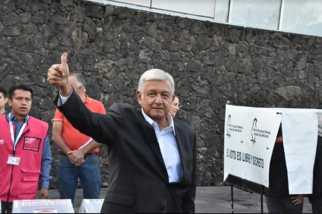 AMLO sobre Puebla: deben revisarse los indicios de fraude