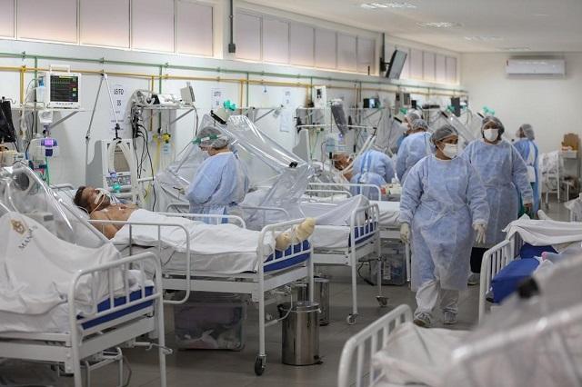 AMLO ve baja saturación en hospitales por Covid 19