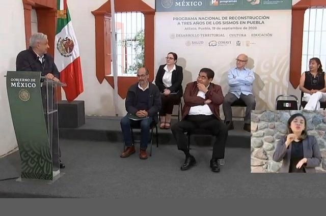 A más tardar en 2021 la SEP se muda a Puebla, afirma AMLO