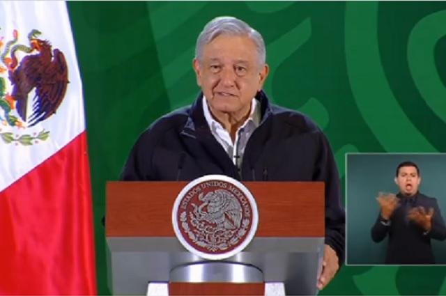 Anuncia López Obrador nueva subasta en Los Pinos