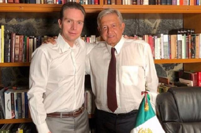 Manuel Velasco defiende el fideicomiso de Morena