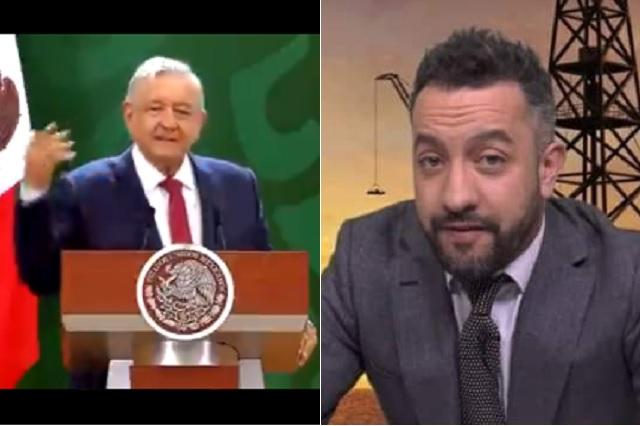 AMLO expresa sus descontento por invitación de CONAPRED a Chumel Torres