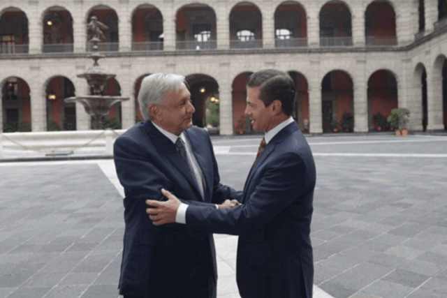 AMLO y EPN acuerdan impulsar la Fiscalía General y crear la SSP