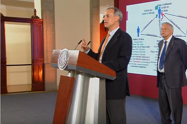 México registra 2 casos de coronavirus; otro, en observación