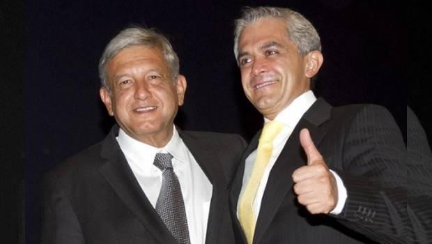 AMLO descarta debatir con Mancera sobre bloqueos en la ALDF