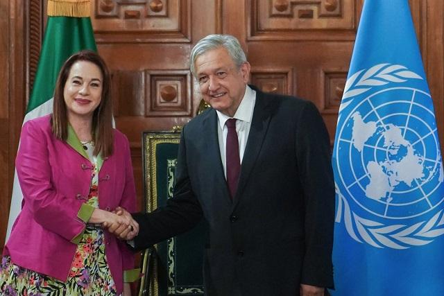 México refrenda sus compromisos con la Organización de las Naciones Unidas