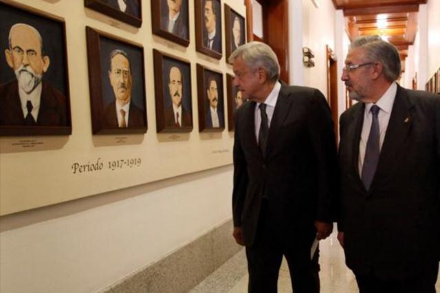 En reunión con ministros se respetó el equilibro de poderes, dice AMLO
