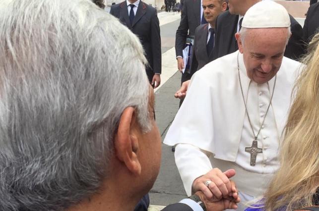 Le gustó mucho al Papa el mensaje de AMLO, dice fundación Scholas