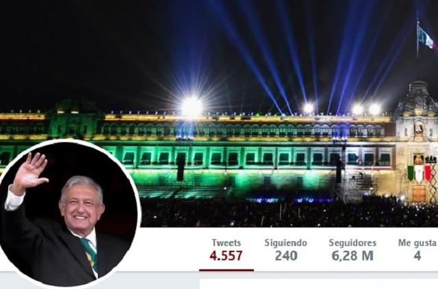 Los números de AMLO en redes sociales, en su primer año de gobierno
