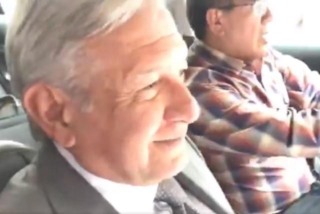AMLO evita a hablar de licencia a Velasco y llama corazoncito a reportera