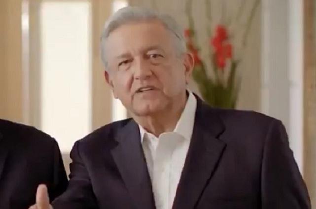 Este es el spot de AMLO que el INE suspende en Puebla