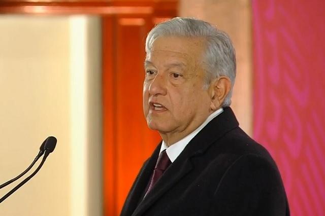Fuga en ducto de Hidalgo impidió resolver desabasto, dice AMLO