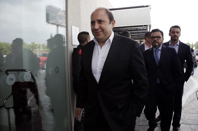 Denuncia Manzanilla grabación de llamada con regidor en Puebla