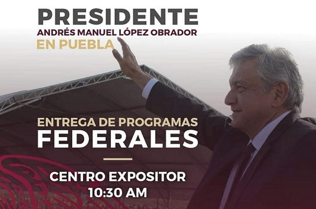 Alistan movilización en colonias para gira de Amlo en Puebla