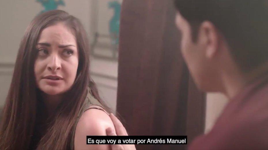 """""""Voy a votar por Andrés Manuel"""" el nuevo y sexoso spot de campaña"""
