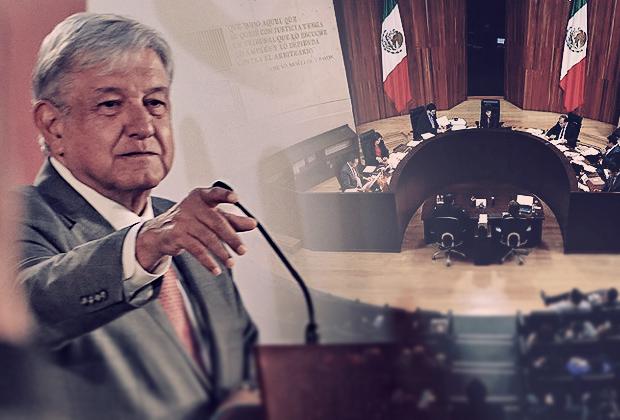 Fue antidemocrático fallo del TEPJF sobre Puebla, acusa AMLO