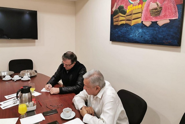 Tras violencia en Culiacán, Trump se solidariza con AMLO