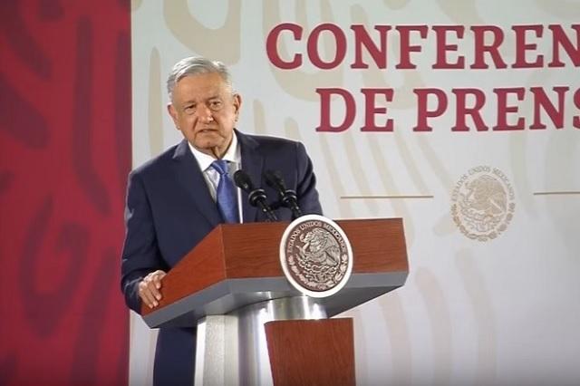De mal gusto, que EU opine de combate al crimen en México, revira AMLO
