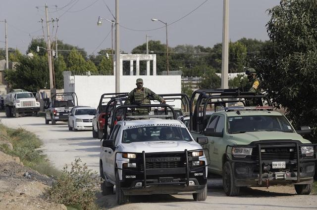 Inspecciona GN a policías de San Felipe Teotlalcingo