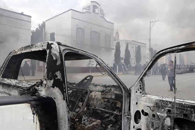 No se permitirá violencia como la de ayer en Amozoc: Barbosa