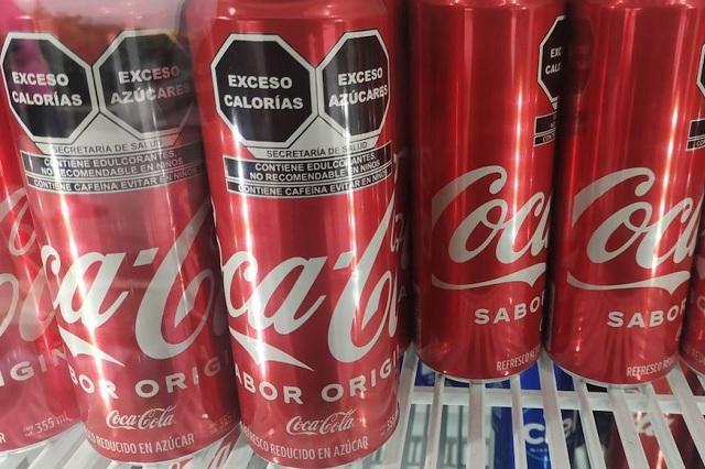 Coca Cola busca evitar la declaración nutricional en sus envases