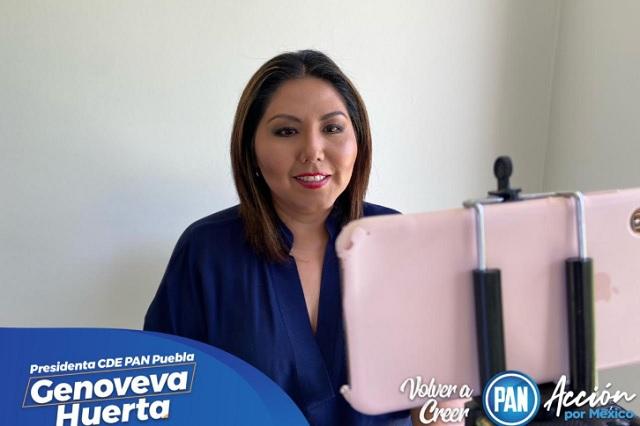 Se ampara líder del PAN en Puebla; se dice perseguida