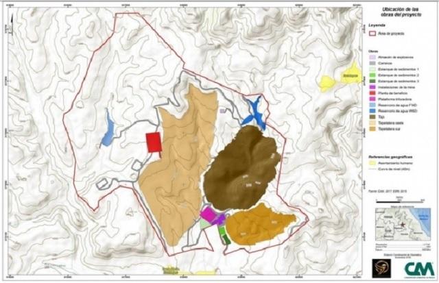 Firma canadiense esperan se apruebe mina en Ixtacamaxtitlán