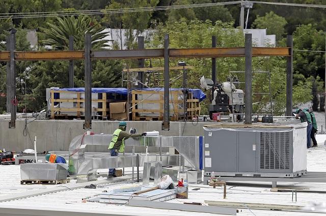 Industria de la construcción en Puebla mejoró en junio