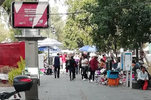 Persiste ambulantaje en Paseo Bravo pese a reordenamiento