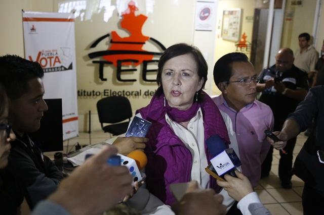 Prepara Aranda denuncia penal contra el presidente del IEE