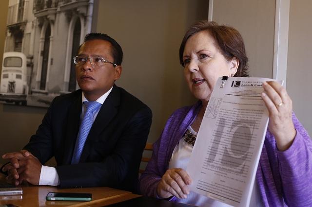 Denuncia Ana Tere ante la Fepade a presidente y secretaria del IEE