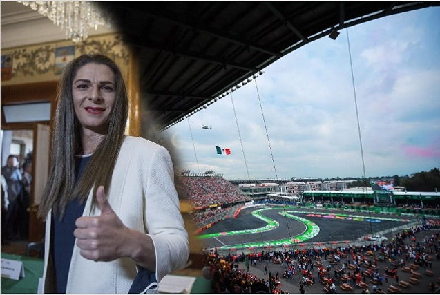 Ana Gabriela Guevara deja en duda el tema de la Fórmula 1 en México